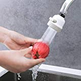 SUNBIBEHot Sale!Kitchen Water Filter Water-Saving Device High Pressure Kit 360 Rotary Faucet Sprayer Head Water Saving Taps Bathroom Accessories