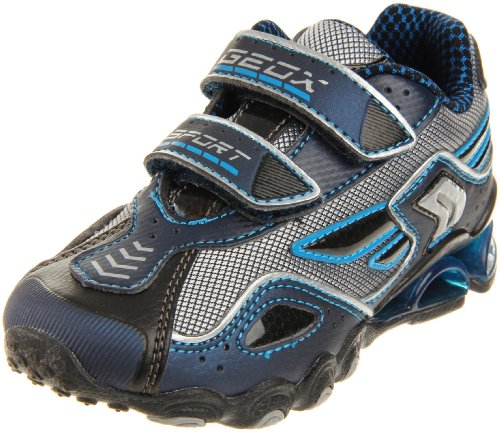 Geox Tornado 10 Hook and Loop Sneaker (Toddler/Little Kid...