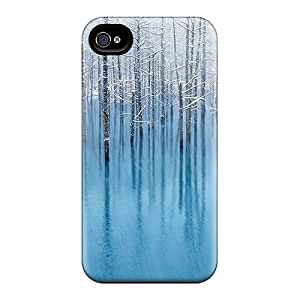 Waterdrop Snap-on Snow Pond Case For Iphone 4/4s