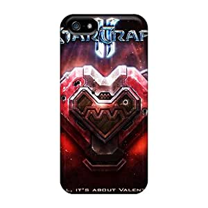 CassidyMunro Scratch-free Phone Cases For Iphone 5/5s- Retail Packaging - Starcraft
