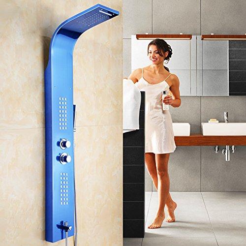 GFEI Mampara de ducha / baño de ducha de acero inoxidable con ...