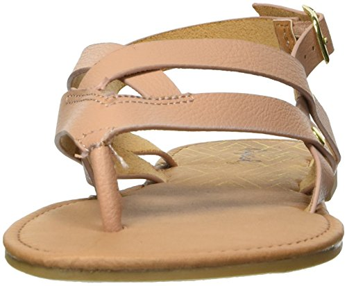 Taupe Thong Women's Sandal Flat Qupid If0wxq