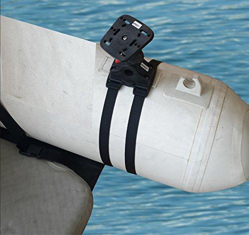 Brocraft Float Tube Fish Finder Mount + Transducer (Eagle Sonar Gps)