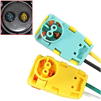 2PCS FITS-JEEP PATRIOT AIRBAG CLOCKSPRING PLUGS WIRE CONNECTOR NEW