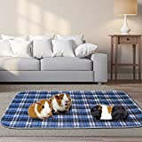BWOGUE 2 Pack Guinea Pig Cage Liners Washable