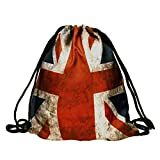 World of Leggings Vintage Union Jack Casual Graphic Bag