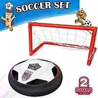Kids Air Power Soccer Goal Gate Set,AMENON Boys Girls...