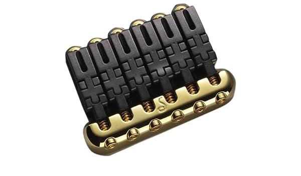 Amazon.com: PUENTE GUITARRA ELECTRICA - Schaller (48052) Puente Hannes/Dorado: Musical Instruments