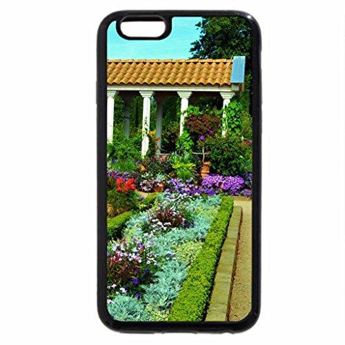 iPhone 6S / iPhone 6 Case (Black) Italian Garden