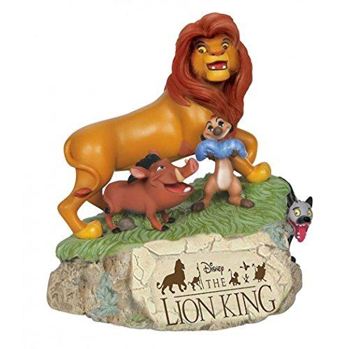 (Precious Moments, Disney Showcase Collection, Lion King, Resin Music Box, 144706)