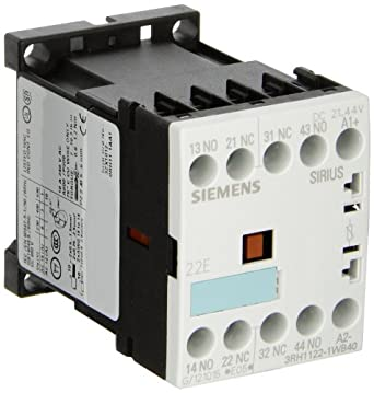 24VDC Rated Control Supply Voltage 3RH11221WB40 Siemens 3RH11 22-1WB40 Coupling Relay 35mm Standard Mounting Rail Varistor Integrated 2 NO 2 NC Contacts Size S00 22 E Identification Number Screw Connection