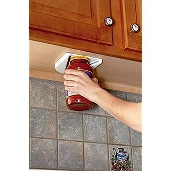 Amazon.com: Under Cabinet Jar Opener Vise V Shaped Wedge Kitchen ...