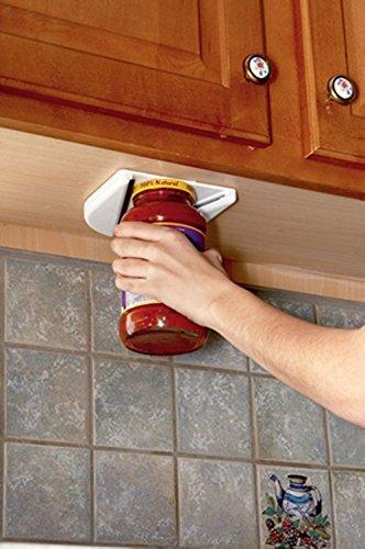 Under Cabinet Jar Opener Vise V Shaped Wedge Kitchen Counter