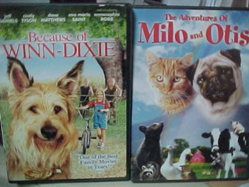 Because of Winn-dixie , the Adventures of Milo and Otis : Family Animal Movie 2 Pack Collection (The Adventures Of Milo And Otis 2)