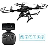Remote Control Quadcopter, ASGO X34C Foldable RC Drone 2.4GHz WiFi Drone with HD Camera