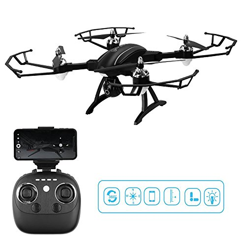 Remote Control Quadcopter, ASGO X34C Foldable RC Drone 2.4GHz WiFi Drone with HD Camera from ASGO