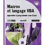 Macros et langage VBA 2e édition