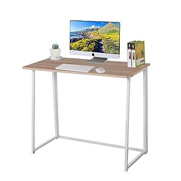 Dripex pequeña mesa estudio plegable portátil de escritorio ...