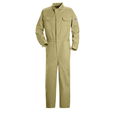 e7a3476c0cc Image Unavailable. Image not available for. Color  Bulwark Deluxe  Contractor Coverall
