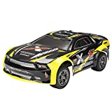 #10: FSTgo RC Car, 9118 Yellow Off Road Vehicle High Speed Car 28km/h 1:12 Scale 80M Remote Control 10-15mins Playing Times Fast Race Car 2.4GHz Electric Car Monster Truck