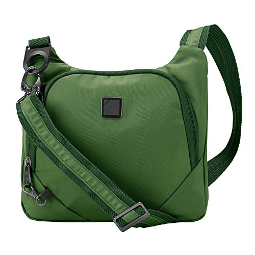 Lewis N. Clark Secura Anti-theft Cross Body Bag, Moss by Lewis N. Clark