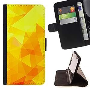 - Yellow Sunny Summer Poly Warm - Estilo PU billetera de cuero del soporte del tir???¡¯???3n [solapa de cierre] Cubierta- For Samsung Galaxy Note 3 III ( Devil Case )