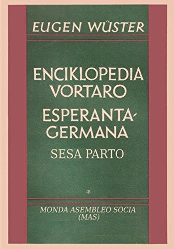 Enciklopedia vortaro Esperanto-germana
