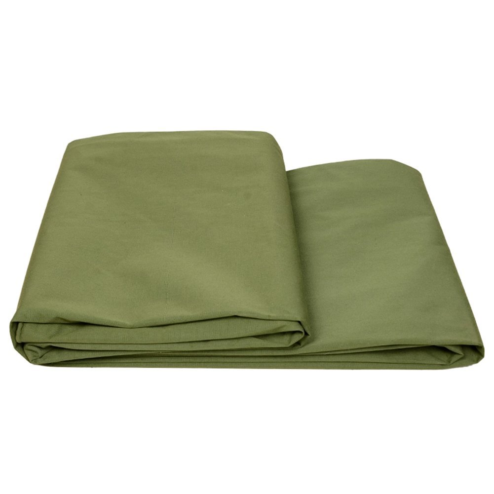 LQQGXL Tissu imperméable à l'eau de toile épaisse, bÂche de prougeection solaire imperméable à l'eau, isolation de tissu de prougeection contre le vent de tissu d'ombre de camion, vert BÂche imperméable &a