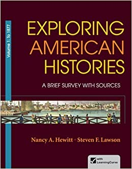 Book Exploring American Histories, Volume 1: A Brief Survey with Sources by Nancy A. Hewitt (2012-12-21)