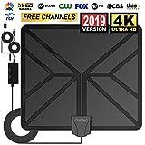 Best Indoor Hd Antennas - [2019 Upgraded] Amplified HD Digital TV Antenna Review