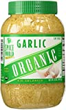 Spice World 100% Organic Garlic.  Ready to use and fat free.  1/2 tsp = 1 clove of garlic (Approx. 362 cloves of garlic per jar.