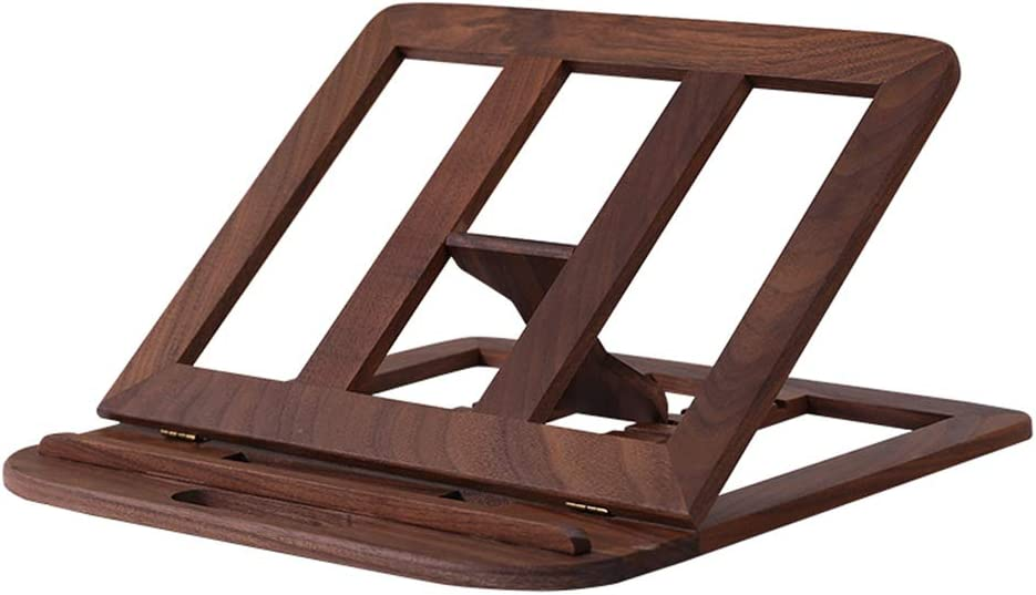 ZC-HZW Laptop Support Wooden Steady Laptop Stand Universal Folding Portable Laptop Stand Heat Dissipation Bracket