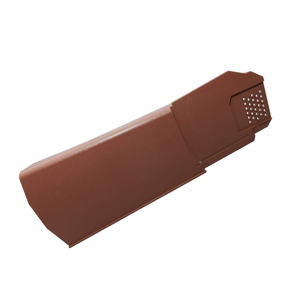 2 x Brown Left Klober Uni-Click Dry Verge Units - Pack Sizes of 2 to 50 Available
