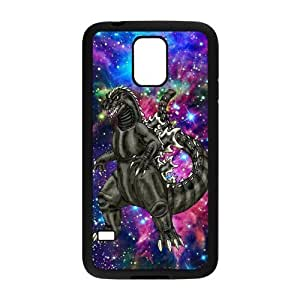 High Quality Customizable Durable Rubber Material Monster Godzilla Samsung Galaxy S5 Back Cover Case