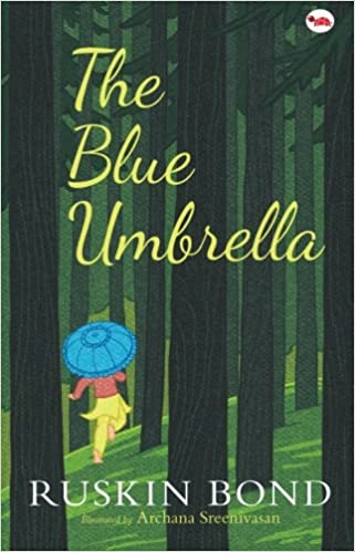main characters of the blue umbrella by ruskin bond