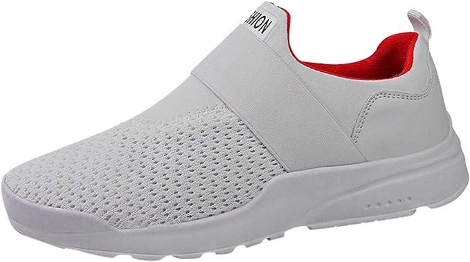 Zapatillas Deporte Hombres Mujer Gimnasio Running Zapatos para Correr Transpirables Sneakers: Amazon.es: Ropa y accesorios