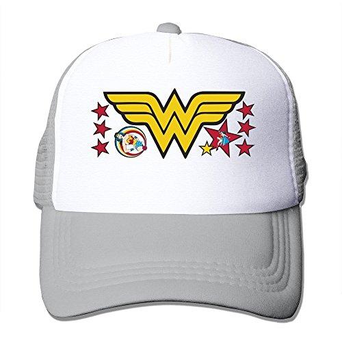 Ceniza Custom gorras Wonder béisbol Woman de 8qf81Z