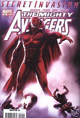 MIGHTY AVENGERS #14 VF/NM SECRET INVASION TIE-IN NICK FURY