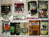 Deluxe Zombie Apocalypse Survival Kit with Zombie Snacks and Energy Drinks
