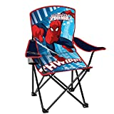 Best Marvel Beach Chairs - Spiderman Youth Folding Chair with Armrest and Cup Review