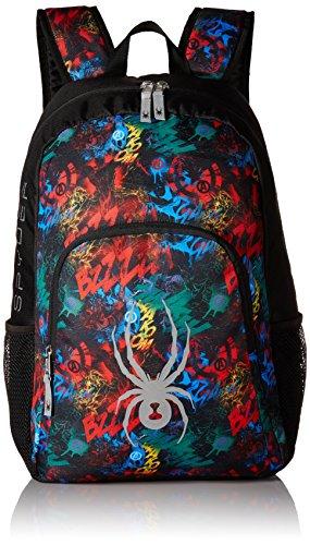 Spyder Boy's Marvel Avengers Backpack, Black/Avengers, One Size by Spyder