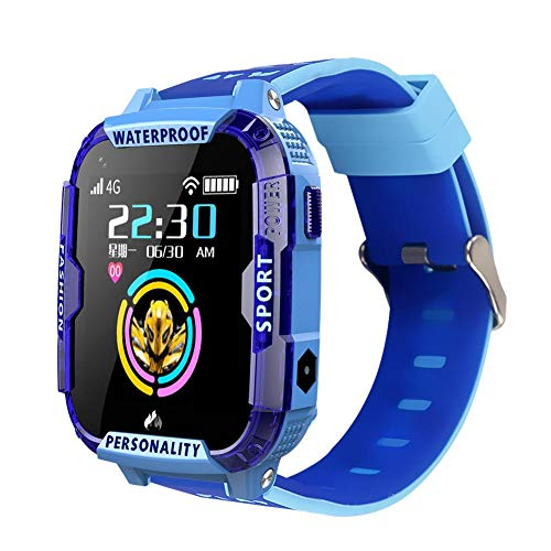 Glossrise T19 Kids تماشای تماس ویدیویی هوشمند GPS WiFi LBS مکان ردیاب HD 4G ضد آب