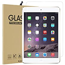 Qoosea iPad 9.7 Inch / iPad Pro 9.7 Inch / iPad Air / iPad Air 2 Screen Protector [2 Pack] Ultra-thin 2.5D 9H Hardness Crystal Clear Scratch Resistant Tempered Glass Screen Protector for iPad 9.7 2017 Newest