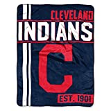 The Northwest Company MLB Cleveland Indians Micro Raschel Throw, One Size, Multicolor