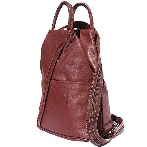 Backpack purse Brown bag and shoulder 2061 PPrvwd