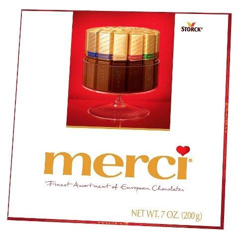 Merci European Chocolates, 7 Ounce (Pack of 2)