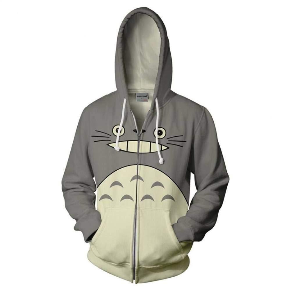 LYJLYJ Sudadera 3D Hoodeden Totoro Sudaderas Impresas en 3D Casual ...