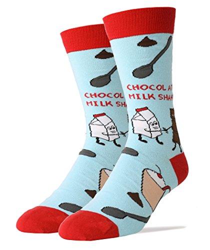 Oooh Yeah Socks ! - Mens Crew - Milk Shake