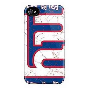 Iphone 4/4s FrY4797XjAB Allow Personal Design Fashion New York Giants Pattern Great Cell-phone Hard Covers -InesWeldon