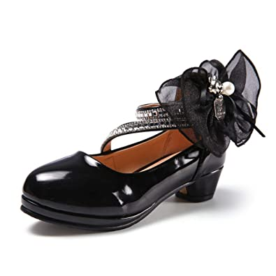 17a6491fed0 Amazon.com | Dolwins Children Leather Shoes Casual Girls Princess ...